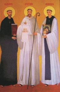 Założyciele Zakonu Cysterskiego